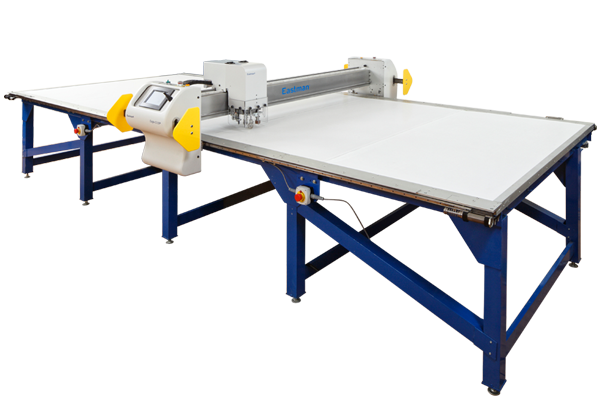 isolated image of automated cutting table